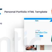 Antic – Responsive Resume & Portfolio HTML Template
