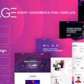 eStage – Event & Conference HTML Template