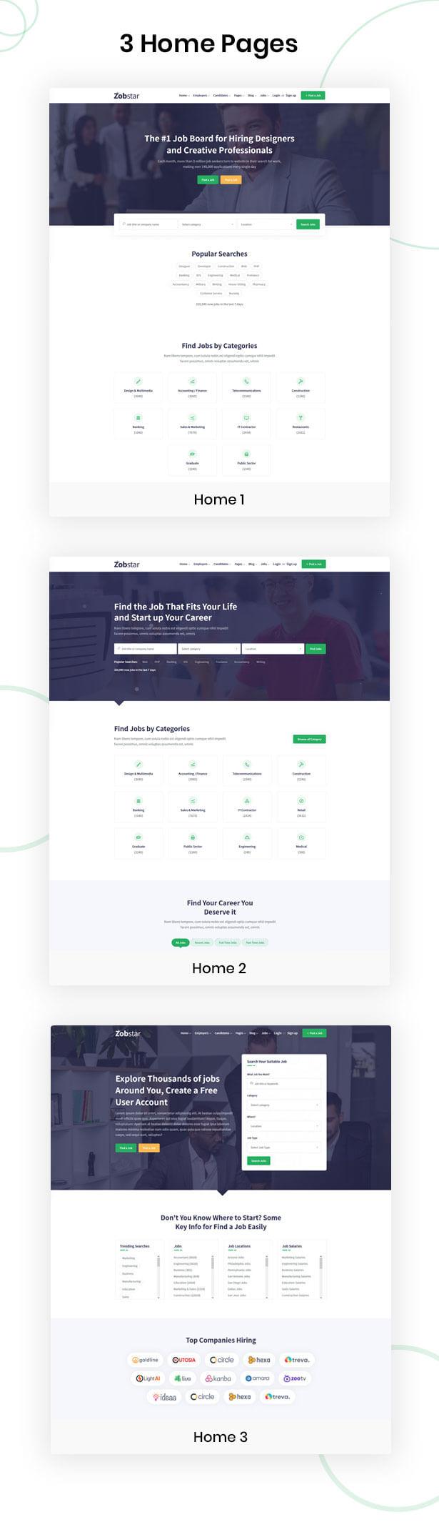 Jobstar - Best Job board HTML Template